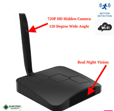 Night Vision Hidden Spy Wireless Nanny HD Motion Camera Audio Wifi Router