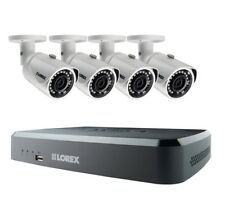 NEW Lorex 8 Channel HD PoE NVR Security System 2TB + 4 x 3MP 1080p IP Cameras