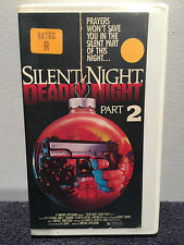 Silent Night, Deadly Night Part 2, II - VHS 1997 - FREE SHIP! PLAYS FLAWLESSLY