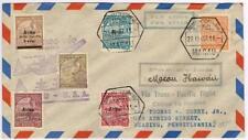 Macau First Flight to Hawaii 1937 Trans Pacific Clipper