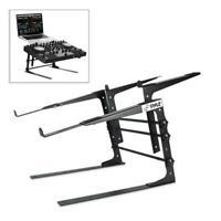 NEW Pyle PLPTS38 Universal Laptop Stand  Sound Equipment DJ Mixing Workstation