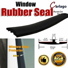 Car Auto Rubber Seal Trim Front Rear Window Windshield Sunproof Weatherstrip 3Ms