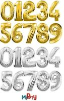 "30"" Giant Foil Number Air Helium Large Balloons Birthday Party Wedding UK Made"
