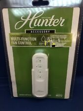 Hunter Universal Multi-Function Handheld Ceiling Fan Remote Indoor/Outdoor White
