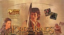 LORD OF THE RINGS FELLOWSHIP OF THE RING ACTION FLIPTZ 3D CARDS SEALED BOX