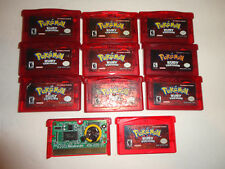 original pokemon ruby version, game boy advance AUTHENTIC, new save battery