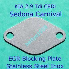 EGR Valve Blanking Plate Kia Sedona Carnival 2.9 Tdi & CRDI Hyundai Terracan 2.9