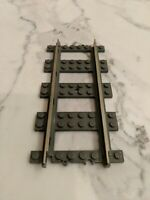Lego Train Replacement Track Lot of 5 Straight Track Part #4515 - Dark Gray