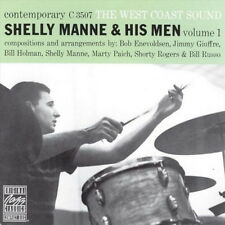 Shelly Manne & His Men Vol. 1 The West Coast Sound Contemporary 1988 CD