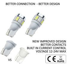 T10/501 Nouveau-sans erreur-Qualité 6000K Ampoule DEL Blanc-Current Control Canbus