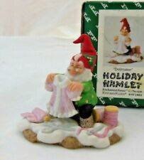 Fitz & Floyd Holiday Hamlet - Dollmaker - 1993