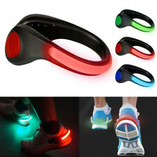 Sports Running Safety USB LED Shoes Clip Luminous Light Reflective No-slip Clips