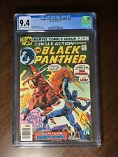 the jungle action 22 Featuring Black Panther CGC 9.4