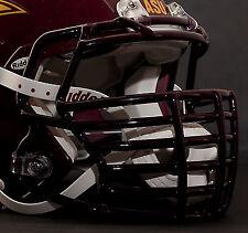 JUSTIN TUCK style Riddell Revolution SPEED Football Helmet Facemask - MAROON