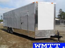 24' Commercial Duty trailer 2018 LOADED , Enclosed car hauler Freedom