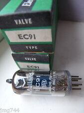 EC91 MULLARD Z&I BOX  NOS VALVE TUBE 1 PC F