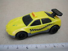 TAXI YELLOW CAB / HOT WHEELS  VEHICULE MINIATURE  M751