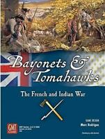 Bayonets and Tomahawks French & Indian War Grand Strategic Board Game GMT Games