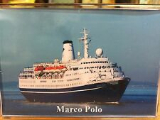 CMV MARCO POLO Large Fridge Magnet Cruise Ship Avonmouth arrival B