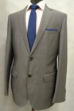 Men's Grey Hugo Boss Suit Jacket Blazer 38R SK750