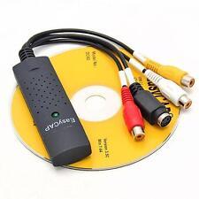 Hot Easycap USB 2.0 Video Audio VHS to DVD Converter Capture Card Adapter SP
