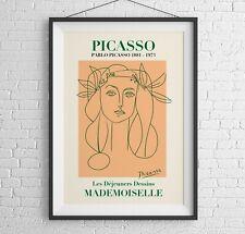 Picasso Art Print, Pablo Picasso Wall Art, Home Decor