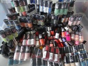 lot revendeur 25 vernis à ongles maybelline color show 25 couleurs differentes