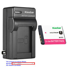 Kastar Battery Wall Charger for Sony NP-FT1 FT1 & Sony Cyber-shot DSC-T5 Camera