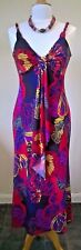 "Kaleidoscope UK 10/EU 36 Holiday/Beach summer maxi dress 50"" L"