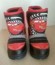 NEW DISNEY Pixar CARS WINTER SNOW BOOTS BOYS TODDLER SIZE 5 FREE SHIPPING