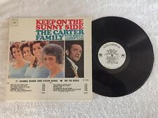 The Carter Family & Johnny Cash - Keep On The Sunny Side - Columbia Promo LP