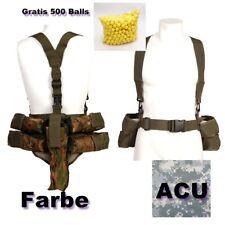 ACU Digital Träger Paintball Pod Weste Camouflage Battlepack inkl 4x Pod + Paint
