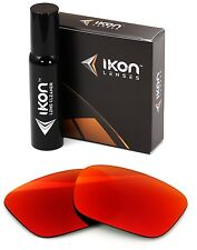 Polarized IKON Replacement Lenses For SPY Helm Sunglasses Red Mirror