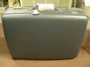 American Tourister blue plastic Suitcase