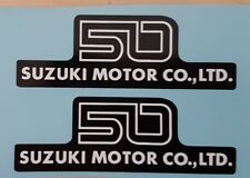 SUZUKI AP50B GT50 SIDE PANEL DECALS