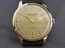 Reloj de pulsera hermosas IWC Automatic aprox. 50er años 750/- Gold cal.853