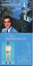 CD Elvis PRESLEY How Great Thou Art (1967) - Mini LP REPLICA - 15-track CARD SLE