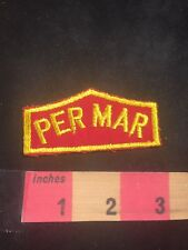 Vintage PER MAR Patch (? Possibly A Security Guard Company - Not Sure) 80K7