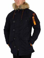 Cappotti e giacche da uomo parke blu Superdry