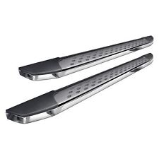 """For Honda Pilot 16-18 5"""" F2 Style Cab Length Brushed Running Boards"""