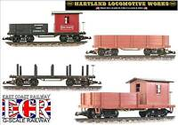 HARTLAND HLW G SCALE 1:24 USA ROLLING STOCK AMERICAN TRUCKS FLATBED 45mm GAUGE 1