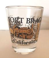 Shot Glass Fort Bragg