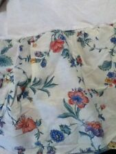 New - Laura Ashley Western King Size Floral Bed Skirt Dust Ruffle Usa