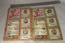 One Piece Grand Battle 2 Pin Badge Set Rare VJump Japan Anime Nami Luffy Rare