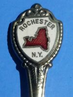 Souvenir Collector Spoon Rochester, NY Enamel