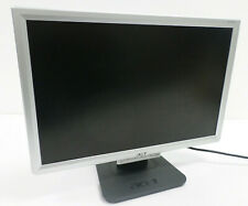 "ACER Black 20""  Widescreen LCD Monitor DVI VGA - Tested Working AL2016W"