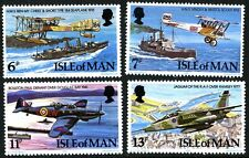 ISLE OF MAN MNH UMM STAMP SET 1977 RAF DIAMOND JUBILEE SG 107-110