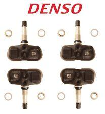 For Lexus ES350 GS350 Toyota Corolla Highlander Scion 4 X TPMS Sensors DENSO