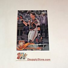 2018 Topps Chrome Base #29 Buster Posey San Francisco Giants