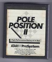 ATARI 7800 Pole Position 2 vintage game Cart